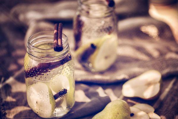 Cinnamon Pear Infused Water – Plan Z Diet